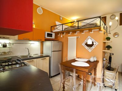 Photo for Elegant studio with a loft bed of 35 square meters