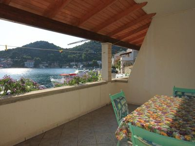 Photo for One bedroom apartment near beach Zaklopatica (Lastovo)