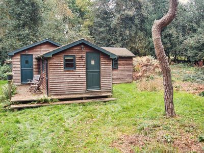 Photo for Holly Oaks - quiet and secluded woodland cabin in Surrey Hills