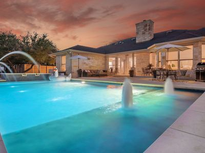 Photo for PRIVATE | 15 Beds | Pool | Hot Tub |Bsktball | Pool Table |Close Downtown
