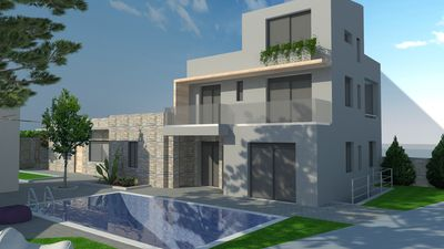 Photo for Luxury villa with private pool and spa 100 meters from beach