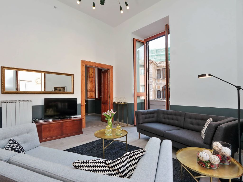 Baullari Apartment 5 Bedrooms For 15 People In Navona Campo De Fiori