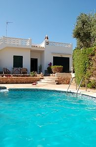 Photo for Charming Detached Villa With Private Pool And Beautiful Sunset Terrace Views