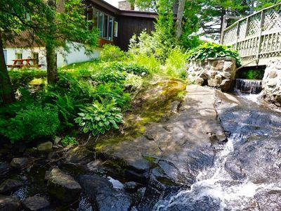 Photo for The Grand Miramont Waterfront Cottage for 24-32 Guests