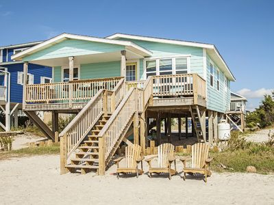 Photo for Moon Struck - 3 Bed/2 Bath Oceanfront Home with Bold, Coastal Flair