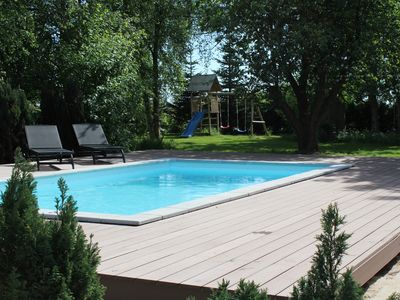 Photo for 9 bedroom luxury pool, SPA and activity house in Marielyst