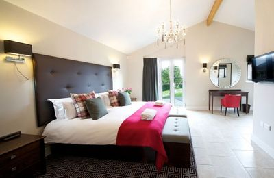 Photo for Crispin Cox comprises two of ten luxury lodges located in peaceful Constable Country in Suffolk, in