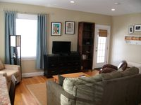 Nice space, great for families, so close to shopping and next door to a playground