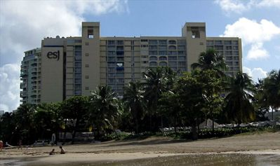 ESJ Towers on the finest beach of Isla Verde.