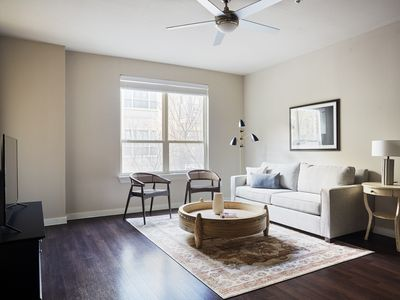 Photo for Sonder | Pearl District | Charming 1BR + Pool