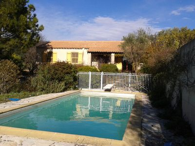 Photo for Villa type 4 with pool, 5 km from the beaches