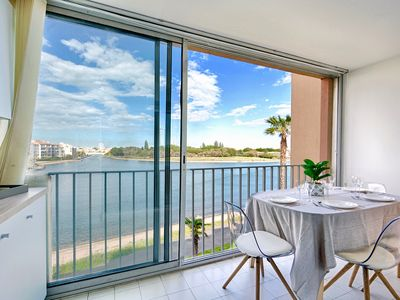 Photo for appart 4/6 pers sea view pool parking air conditioning