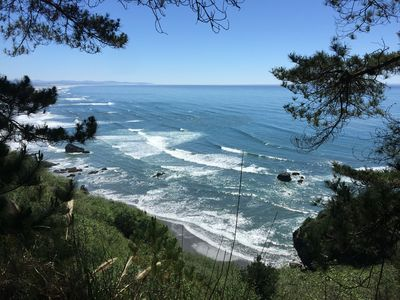 Photo for Seaside Meadow on the Bluff - Overlooking Beaches & Ocean