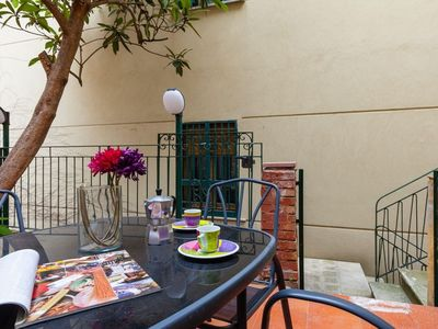 Photo for Vomero Family Terrace apartment in Vomero with WiFi, air conditioning & private terrace.