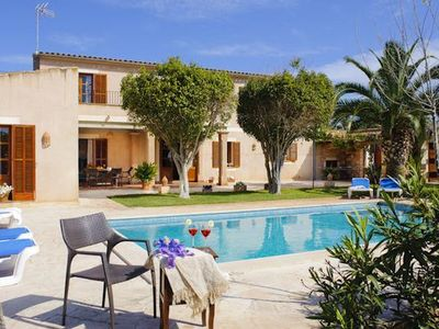 Photo for Holiday house Cala Mondrago for 1 - 10 persons with 5 bedrooms - Holiday house