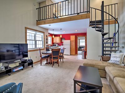Photo for NEW! Cozy Condo 15 Mins to Stowe Mountain Resort!