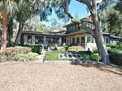 Photo for Beautifully designed home on Harbor Town golf course, enclosed pool and spa, gas grill, deck