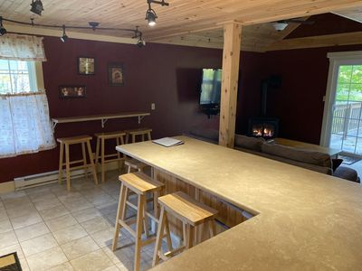 Photo for Stay 1.5 miles from Mt. Snow with Views of the Mountain! Relax in the Hot Tub.