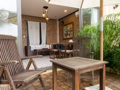 Photo for Hoi An 2 bedrooms at the riverside view in town