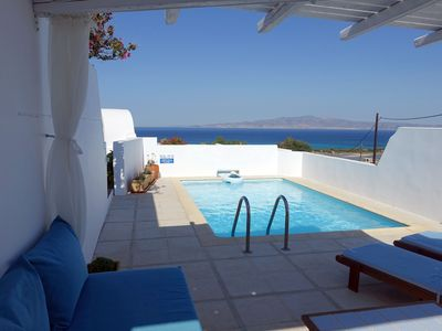 Photo for Kamari Villa-A1-with private pool