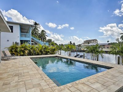 Photo for Updated St. James City Home on Canal w/Pool & Dock