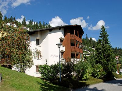 Photo for Apartment Crap Grisch (Utoring) in Flims - 2 persons, 1 bedrooms