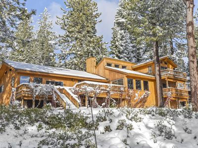 Photo for Dollar Point Luxury Getaway: Hot Tub & Lake Views, 7.7mi to Squaw Valley/Alpine