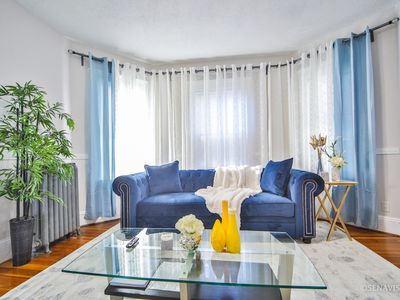 Photo for Perfect for large group 10 beds•  4.6 mi to Downtown •steps to T 5BD/2Bth