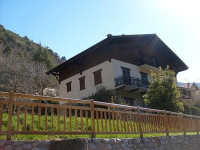 Photo for Apartment 4/5 rooms on the ground floor of the chalet
