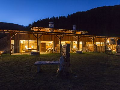 Photo for Fantastic secluded location, suitable for couples, dogs allowed, wellness in the chalet