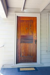 Your Private entry/ front door on the left side of the porch
