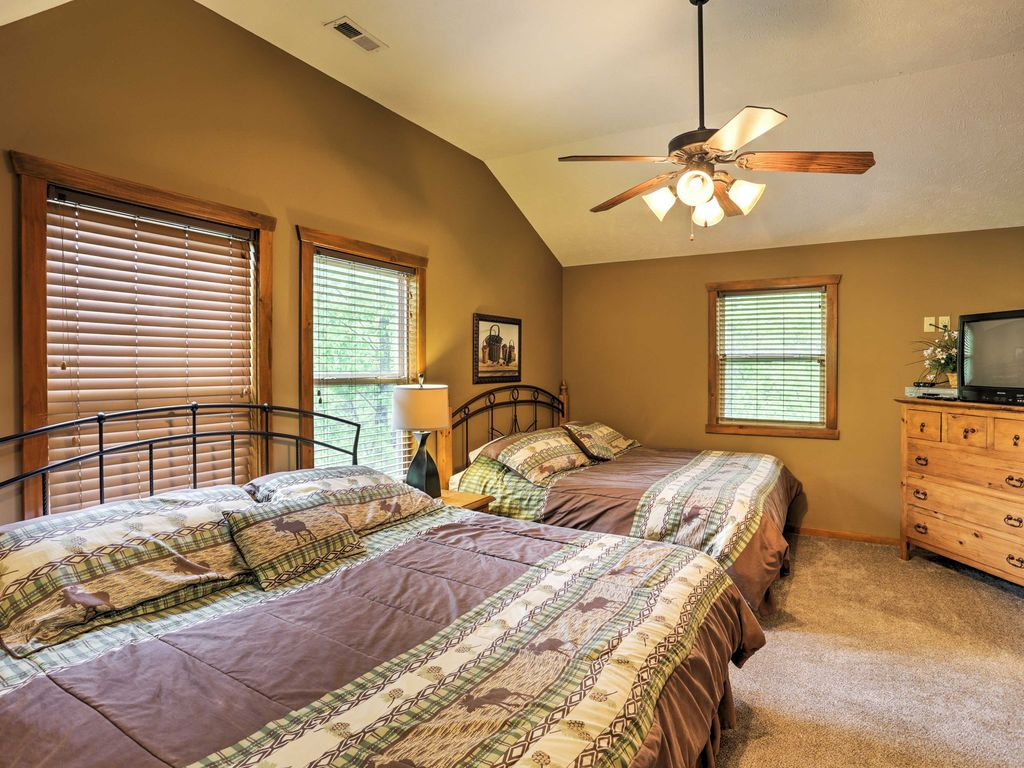 New 6br branson cabin near all attractions indian point for 7 bedroom cabins in branson mo