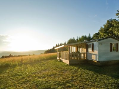 Photo for 4-person mobile home in the holiday park Landal Warsberg - in the mountains/rolling countryside