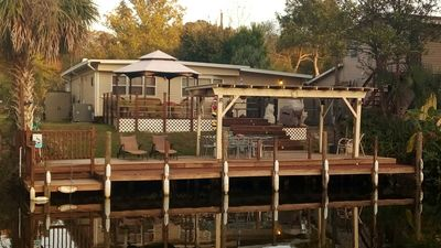 Photo for The Manatee Hideaway-3 Bed-2 Bath-2 Decks-50' Dock-5 Kayak, 3Person Canoe 7 Bike