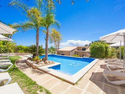 Photo for CAN RASCA - Villa with private pool in CAIMARI.