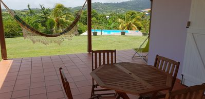 Photo for Villa with Pool F3 south Martinique between mountain and sea