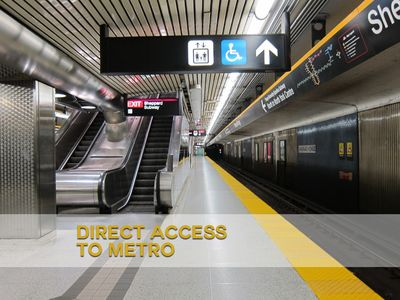 Direct access to metro