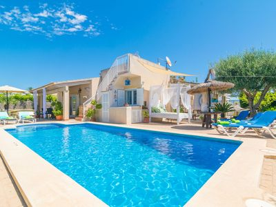 Photo for CAN CONTENT - Villa with private pool in Playa de Muro.