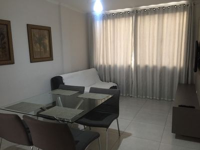Photo for Apart. 2 rooms, 50 m to the beach, with Air, Garage, WiFi, Smart TV, Barbecue