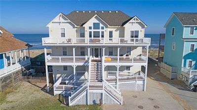 Photo for Incredible Oceanfront Views! Elevator, Hot Tub, Game Rm, Media Rm, Dog-Friendly