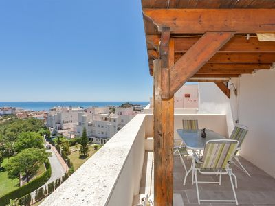 Photo for Top apartment with incredible private roof terrace view.Near center by foot