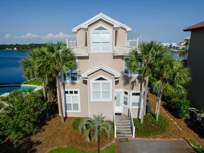 Photo for Gulf View Home with Pool near Seaside FL Get to the Point