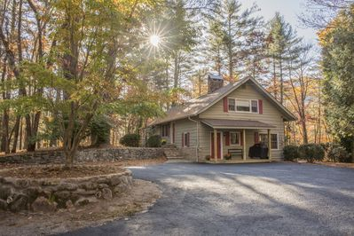 Dogwood Hill is 7 miles from Cashiers, NC a great space to vacation w/ family.
