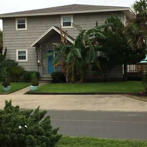 The Pelican Palms Home.  The duplex is on the lower floor/Private entrance/deck.