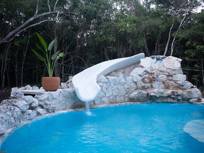 Photo for Great Mayan Jungle house in a fantastic location.