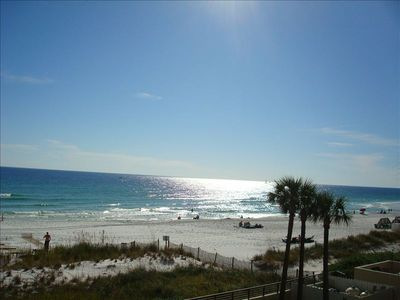 Fabulous Gulf view from balcony!