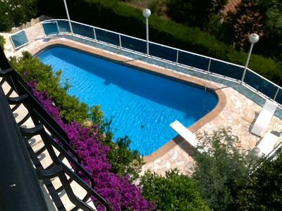 Photo for 4 room apartment 6 pers-private pool-exceptional sea view-fireplace-WIFI