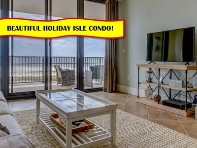 "Photo for ""Holiday Isle 605"" on Gulf of Mexico 