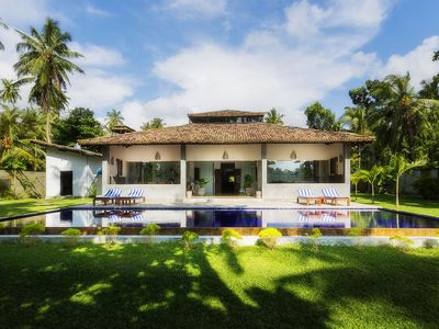 Photo for Gangananda - Stunning Lakeside Villa With Large Pool Near The Sea