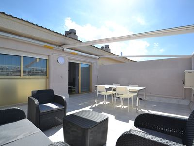 Photo for MICHELANGELO 2:Beach & Center's Salou-Penthouse-Pool-FREE Air conditioned,wifi & Linen